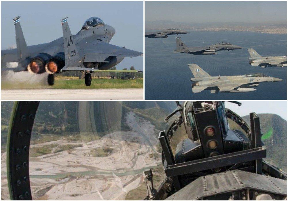 Νέο μήνυμα στήριξης από την Ουάσιγκτον - Σε νευρικό κλονισμό η Άγκυρα: Αμερικανικά F-15 στη Λάρισα - Ψήφος εμπιστοσύνης στα Ελληνικά «γεράκια»