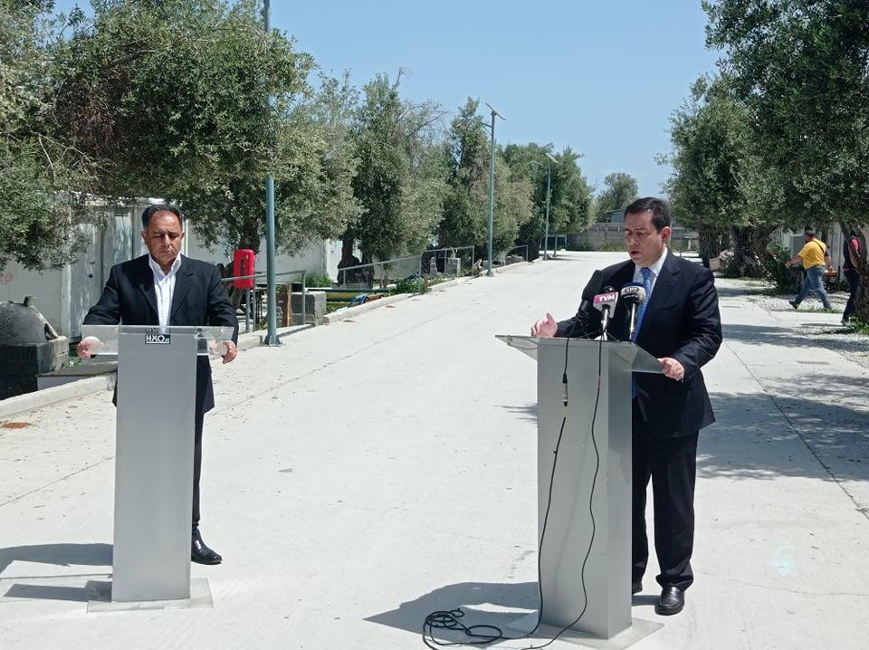 Στο Δήμο Μυτιλήνης η δομή του Καρά Τεπέ – Μηταράκης: Θα κλείσει και η προσωρινή δομή στο Μαυροβούνι – Οι εξαγγελίες Κύτελη (video)