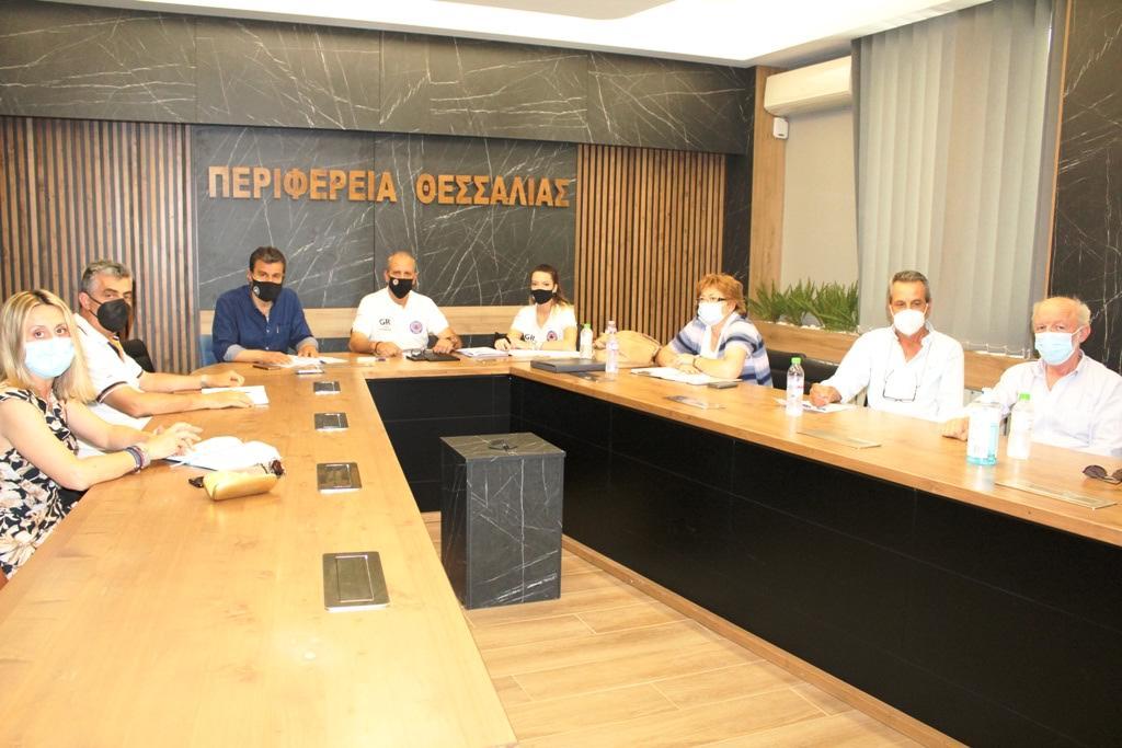 Σύσκεψη του Αντιπεριφερειάρχη Π.Ε. Λάρισας με τους Δασάρχες