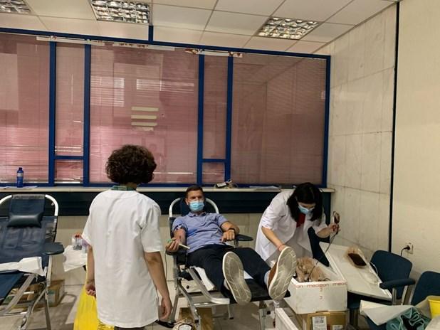 Λάρισα: Επιτυχημένη η πρώτη εθελοντική αιμοδοσία του Φαρμακευτικού Συλλόγου
