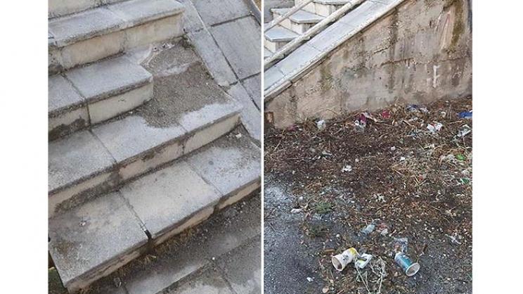 Εικόνα εγκατάλειψης στο Παλαιό Θεσσαλικό -Χαραυγή