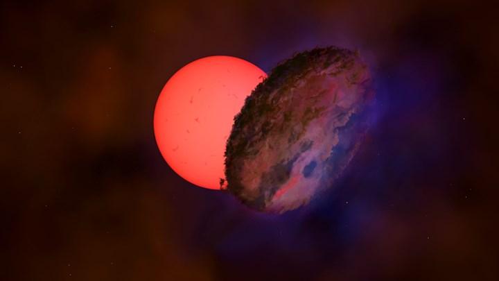 Ανακαλύφθηκε κοντά στο κέντρο του γαλαξία γιγάντιο άστρο που «αναβοσβήνει»