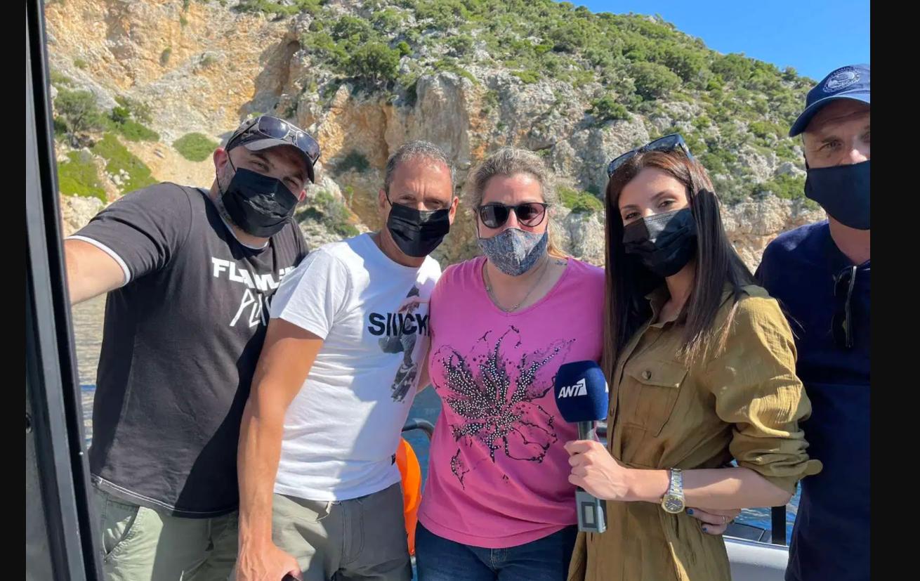 Tηλεοπτικό συνεργείο του Ant1 στην Αλόννησο για την προβολή του νησιού