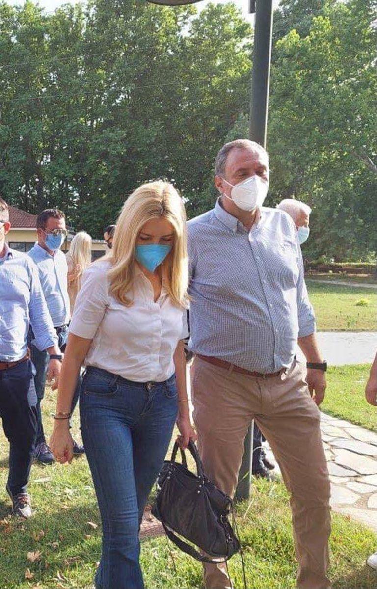 Τον Δήμο Τυρνάβου επισκέφθηκε την Τετάρτη 23 Ιουνίου η Υφυπουργός Φωτεινή Αραμπατζή
