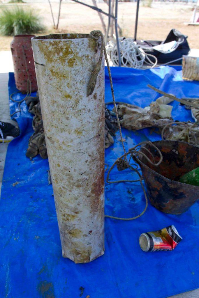 Η 199η εθελοντική δράση καθαρισμού του βυθού από τον Όμιλο Αυτοδυτών Λουτρακίου