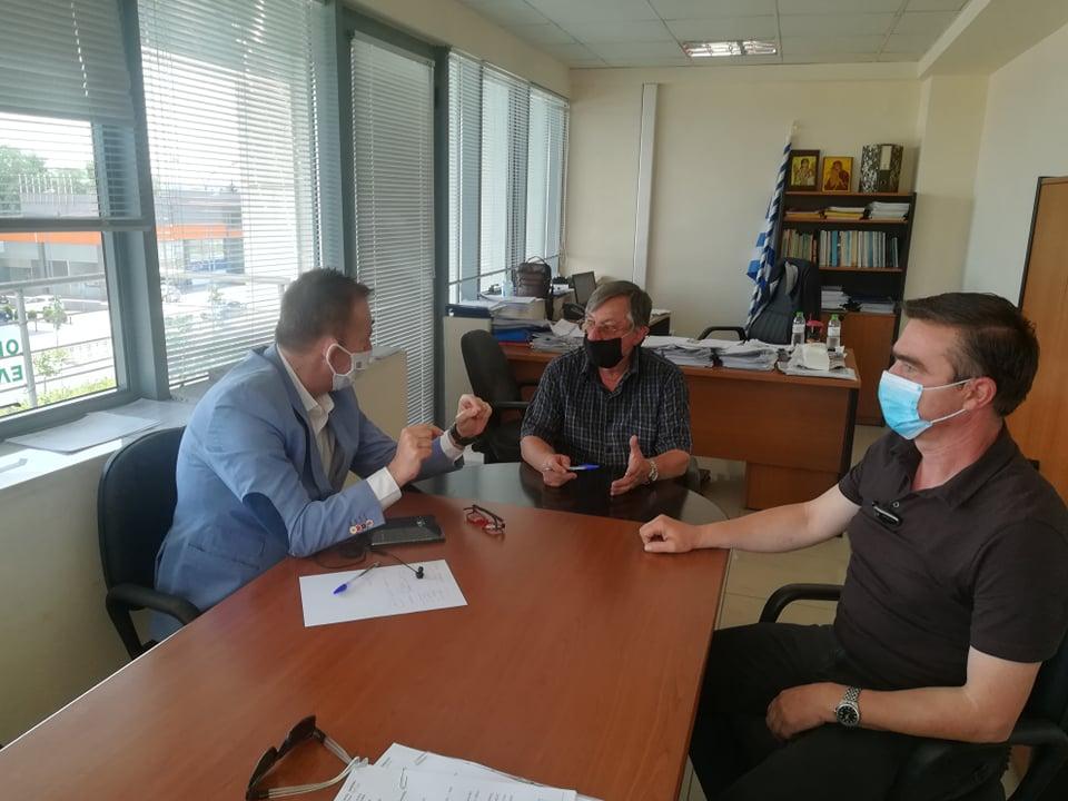 Κόκκαλης στον ΕΛΓΑ Λάρισας: Η διαδικασία των αποζημιώσεων πρέπει να «σπριντάρει» για τους παγετόπληκτους