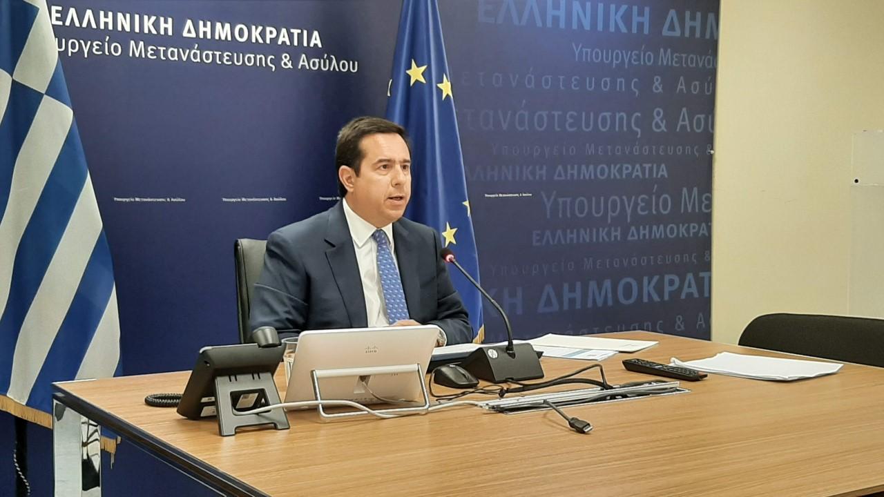 Ν. Μηταράκης: Η Ελλάδα δεν θα επιτρέψει να είναι η πύλη της Ευρώπης για δίκτυα λαθρεμπορίου