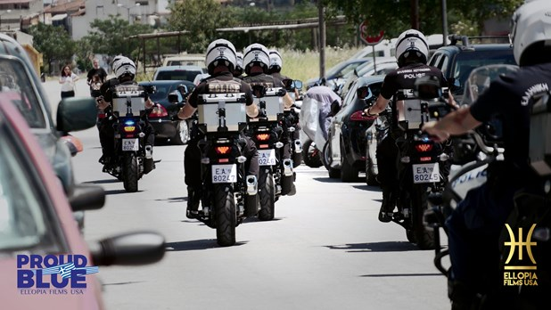 PROUD BLUE Police of Thessaly: Παγκόσμια πρεμιέρα στο Κηποθέατρο Αλκαζάρ