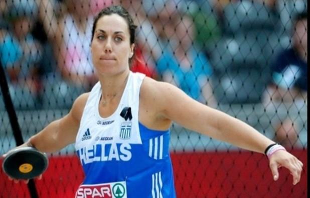 Εξασφάλισε το εισιτήριο για τους Ολυμπιακούς η Λαρισαία Χρ. Αναγνωστοπούλου