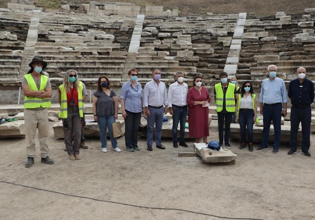 Λίνα Μενδώνη: «Είναι η πρώτη φορά που το Αρχαίο Θέατρο Λάρισας έχει ορατότητα τέλους»