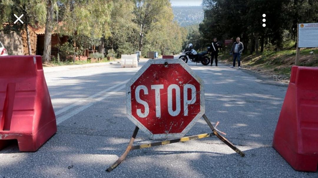 Aπαγόρευση κυκλοφορίας στον Υμηττό για την Πέμπτη 8 Ιουλίου