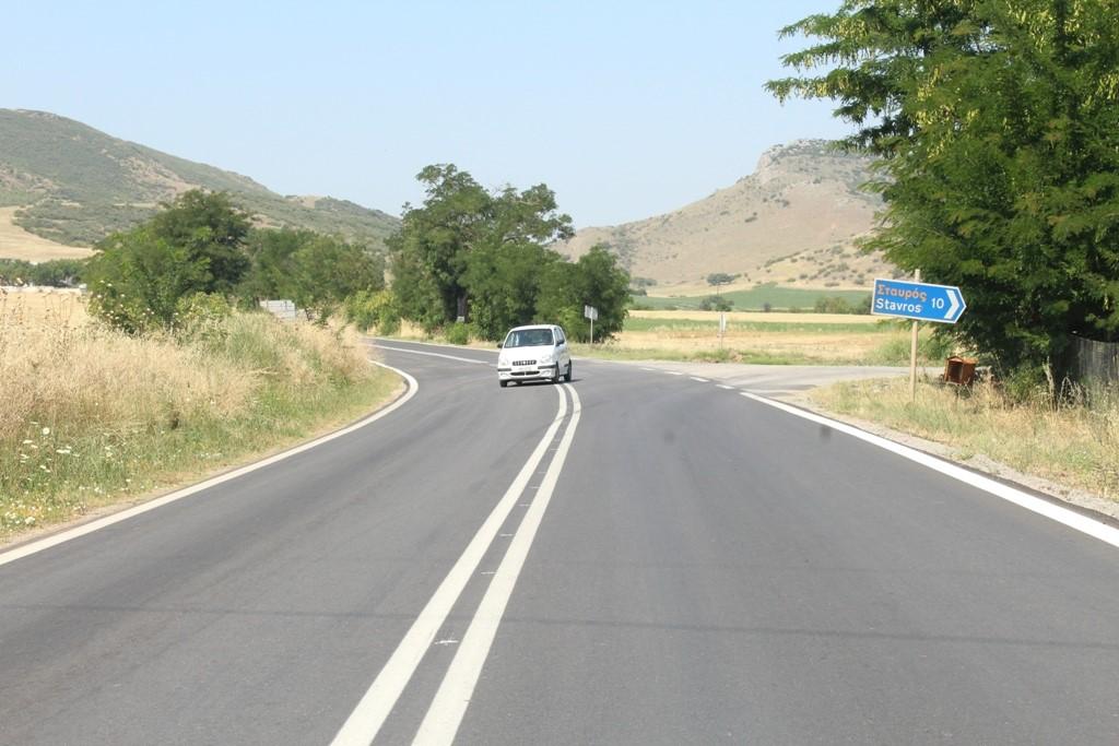 Ολοκληρώνονται οι εργασίες συντήρησης του δρόμου Φάρσαλα – Δομοκός από την Περιφέρεια Θεσσαλίας