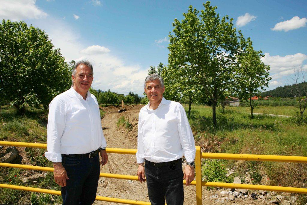 Αντιπλημμυρικά έργα για την προστασία των οικισμών στον Πορταϊκό Ποταμό από την Περιφέρεια Θεσσαλίας