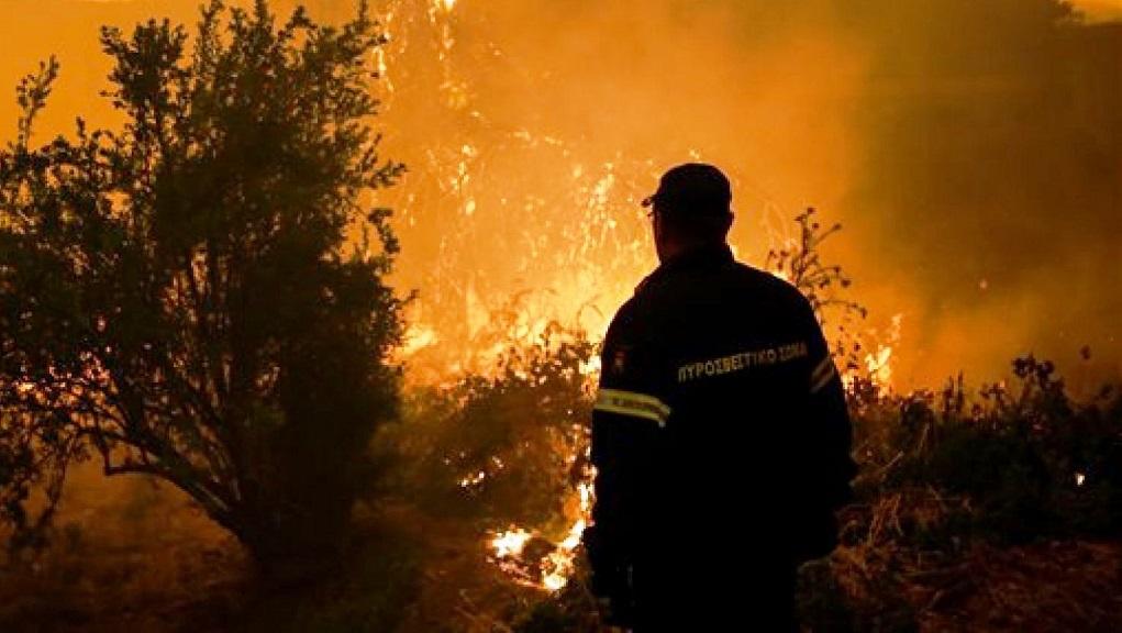 Νέα πυρκαγιά σε δασική έκταση στον Ασπρόπυργο