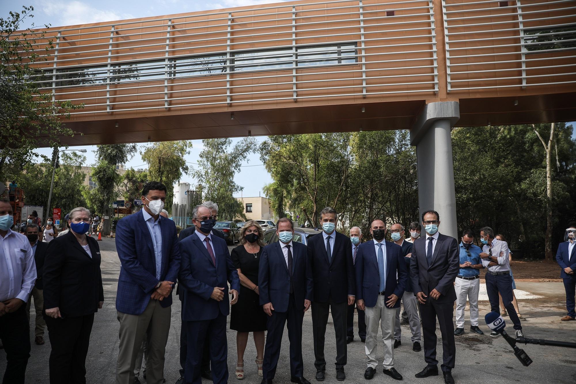 Νοσοκομείο «Σωτηρία»: Πεζογέφυρα συνδέει 50 νέες ΜΕΘ με χειρουργεία (video)