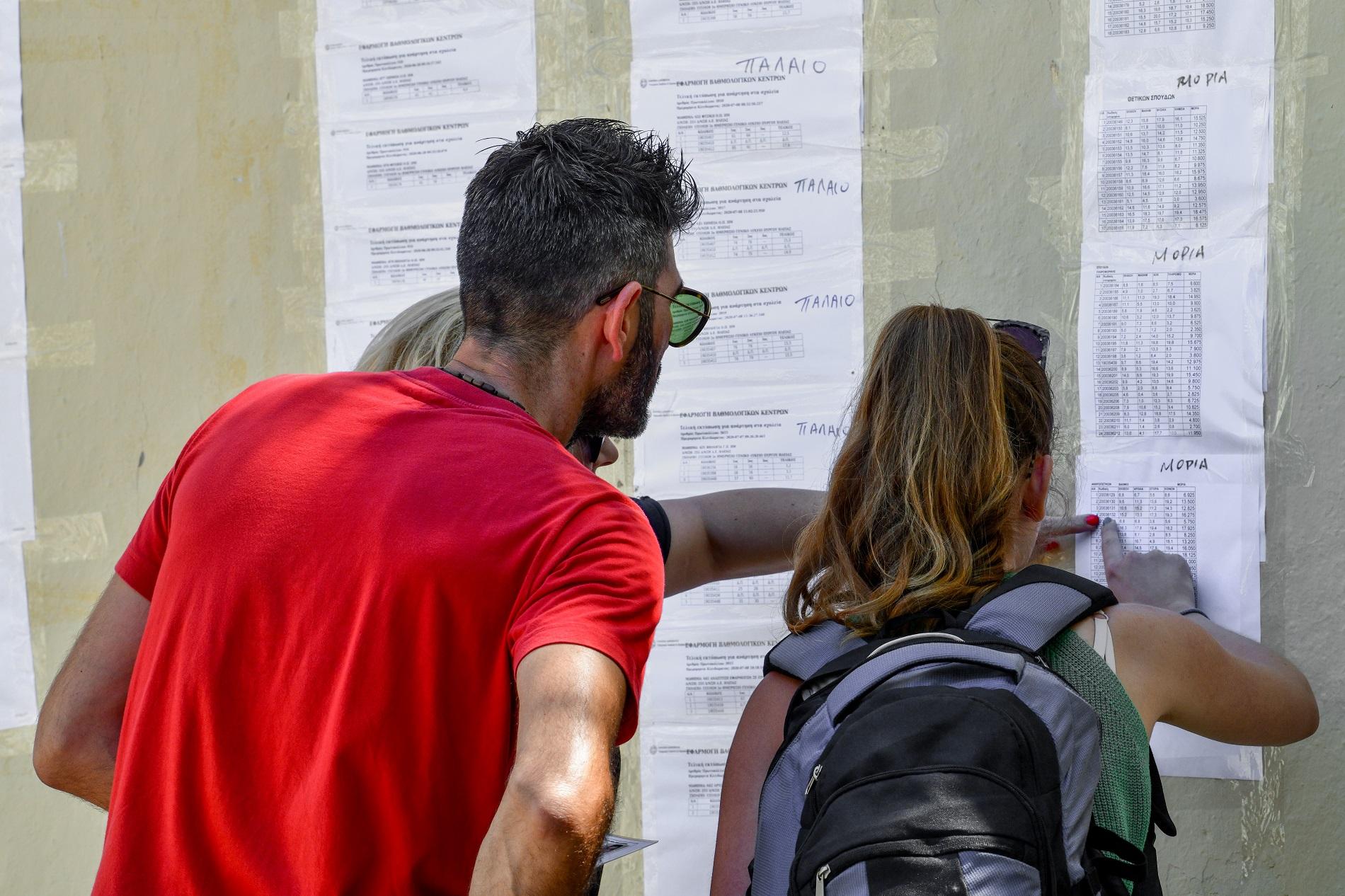 Σήμερα το μεσημέρι η ανάρτηση της βαθμολογίας των Πανελλαδικών Εξετάσεων