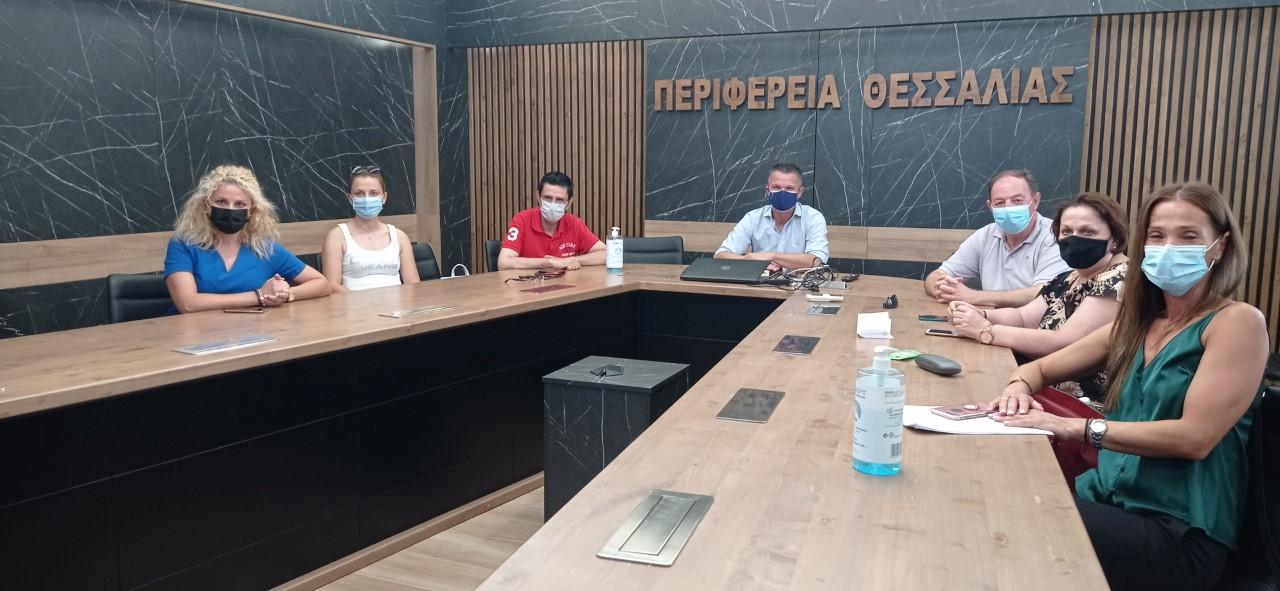 Συνάντηση δικτύωσης ανάμεσα σε Περιφέρεια Θεσσαλίας, Δήμο Λαρισαίων και Δήμο Φαρκαδόνας