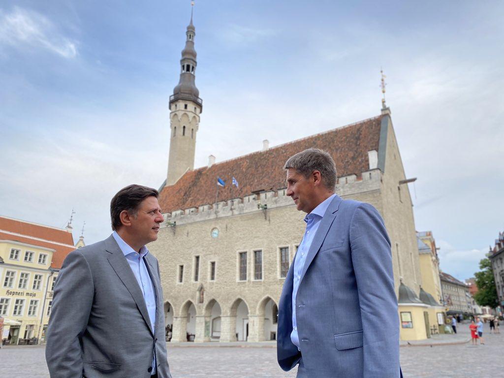 Περιοδεία Μ. Βαρβιτσιώτη στις χώρες της Βαλτικής – Συνάντηση με τον υφυπουργό Ευρωπαϊκών Υποθέσεων της Εσθονίας