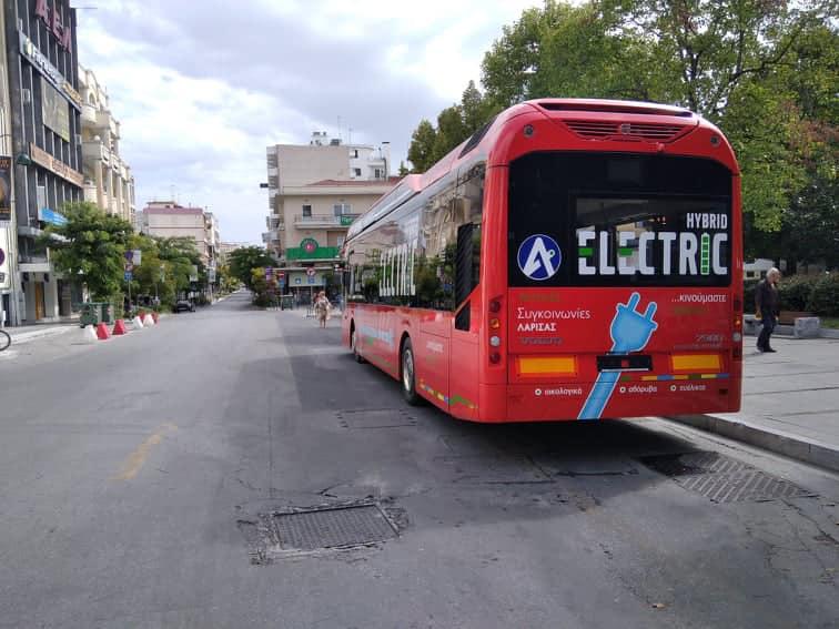Το 1ο Υβριδικό λεωφορείο από το Αστικό ΚΤΕΛ στην Ελλάδα, είναι εδώ στη Λαρισα! ΦΩΤΟ