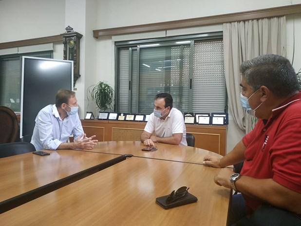 Συνάντηση με το Δήμαρχο Τρικκαίων της πολιτικής κίνησης