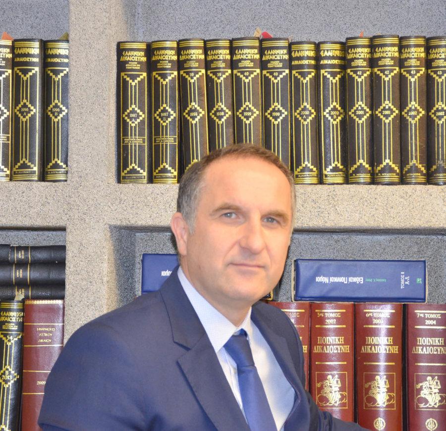 Ο Χρήστος Μπραζιώτης υποψήφιος πρόεδρος για το Δικηγορικό Σύλλογο Λάρισας