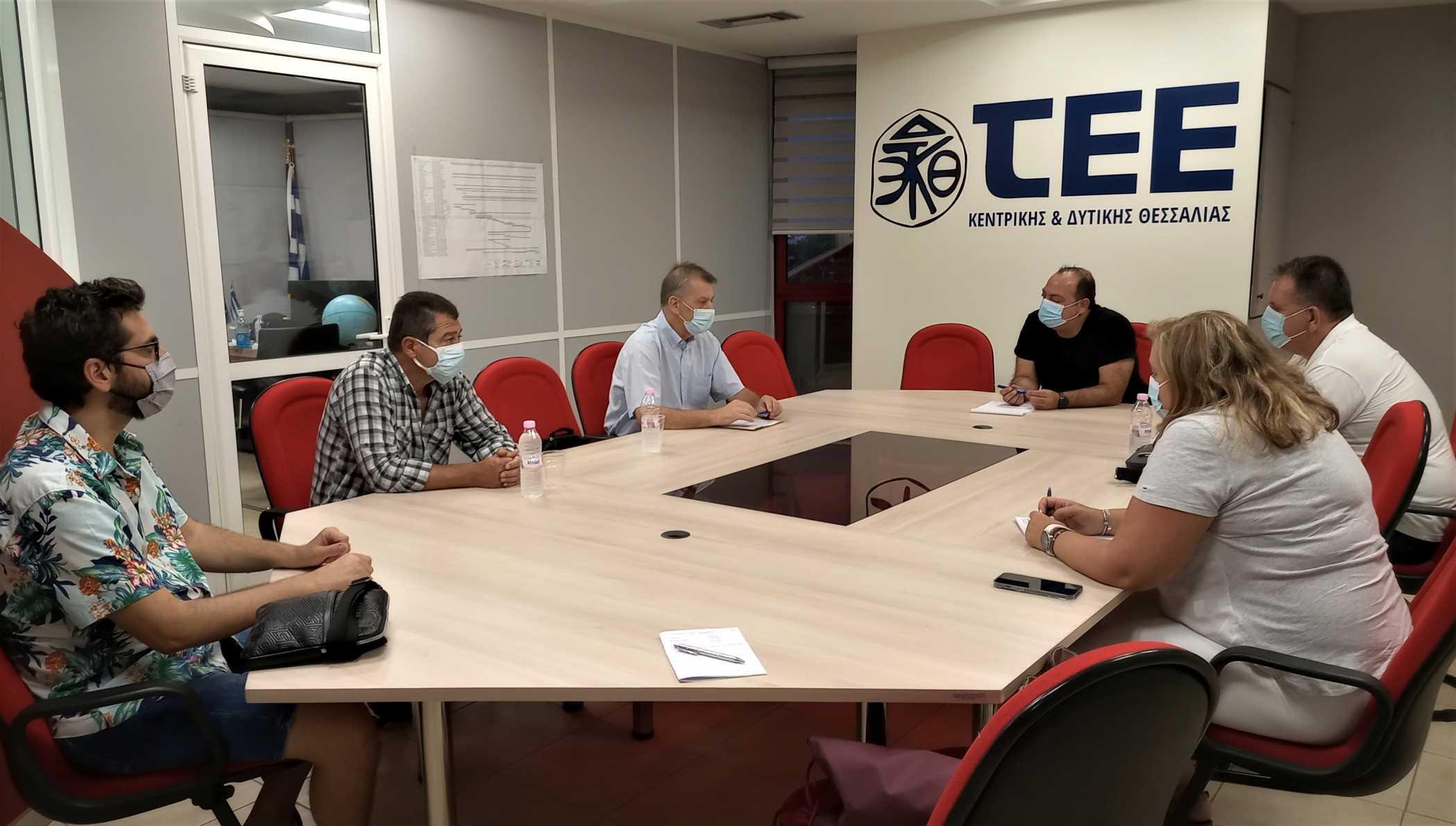 ΤΕΕ ΚΔΘ: Επίσκεψη κλιμακίου της Λαϊκής Συσπείρωσης Θεσσαλίας - Επί τάπητος ζητήματα αντιπλημμυρικής, αντιπυρικής και αντισεισμικής θωράκισης